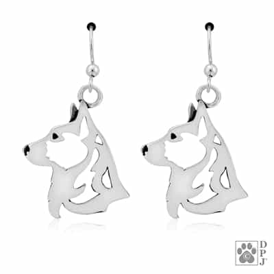 Cardigan Welsh Corgi Earrings, Corgi Earrings, Corgi Jewelry, Corgi Gifts