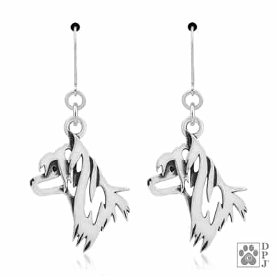 Chinese Crested Jewelry, Chinese Crested Earrings