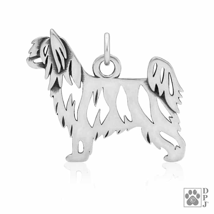 Shih Tzu Dog Pendant Necklace Silver ANIMAL RESCUE DONATION