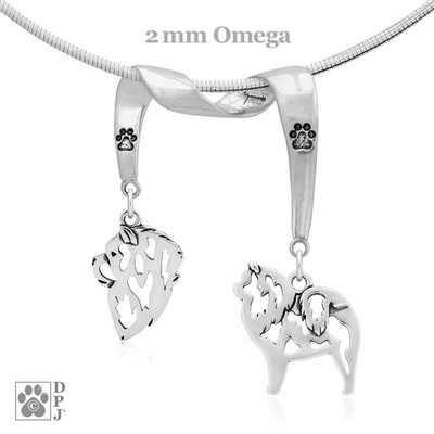Chow Chow Necklace, Chow Chow Jewelry, Chow Chow Gifts