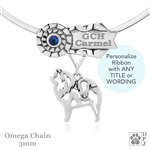 Personalized Best In Show Chow Chow Jewelry, Best In Show Chow Chow Pendant Necklace, Grand Champion Chow Chow