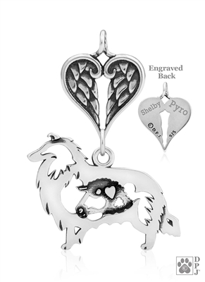 Collie Memorial Gifts, Collie Memorial Jewelry, Collie Memorial Keepsake