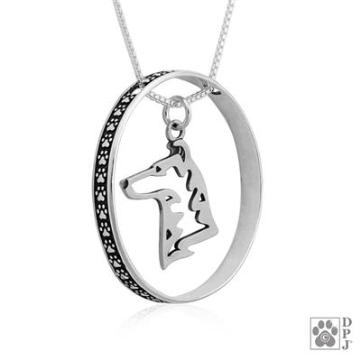 Collie Pendant, Collie Charm, Collie Necklace, Collie Jewelry, Collie Gifts