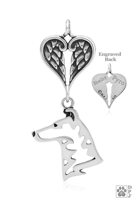 Collie Memorial Jewelry, Collie Memorial Gifts, Collie Memorial Necklace