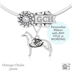 Best In Show Smooth Collie Jewelry, Best In Show Collie Pendant, Best In Show Collie Necklace
