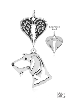 Dachshund Memorial Jewelry, Dachshund Memorial Necklace, Dachshund Memorial Gifts