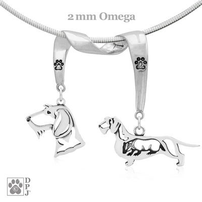 Wirehaired Dachshund Necklace, Wirehaired Dachshund Jewelry, Wirehaired Dachshund Gifts