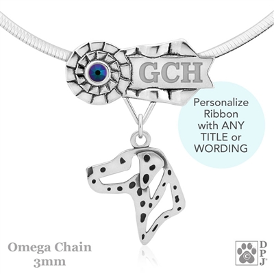 Best In Show Dalmatian Jewelry, Best In Show Dalmatian Pendant, Best In Show Dalmatian Necklace