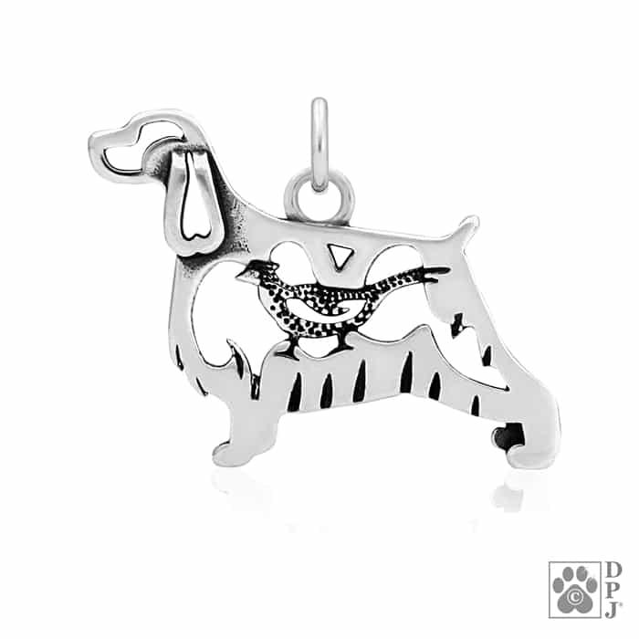 English Springer Spaniel Jewelry Springer Spaniel Pendant English