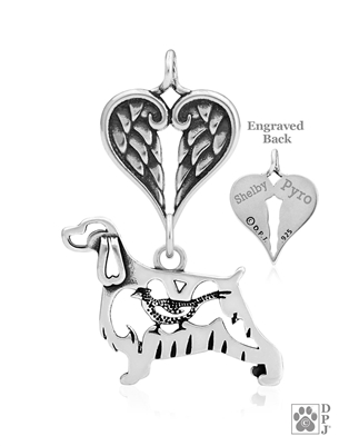 English Springer Spaniel Memorial Jewelry, English Springer Spaniel Inspirational Jewelry, English Springer Spaniel Memorial Keepsake, English Springer Spaniel Memorial Gifts, English Springer Spaniel Pet Loss Memorial, English Springer Rainbow Bridge