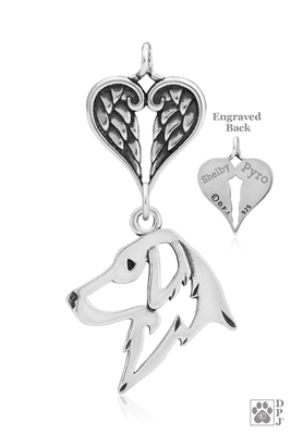 Flat-Coated Retriever Memorial Jewelry, Flat-Coated Retriever Inspirational Jewelry, Flat-Coated Retriever Memorial Keepsake, Flat-Coated Retriever Memorial Gifts, Flat-Coated Retriever Pet Loss Memorial, Flat-Coated Retriever Rainbow Bridge