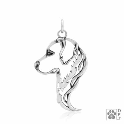 Golden Retriever Pendant, Golden Retriever Gifts