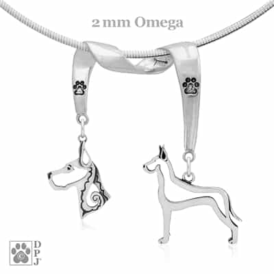 Great Dane Necklace, Great Dane Jewelry