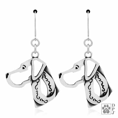 Great Dane Natural Ears Earring