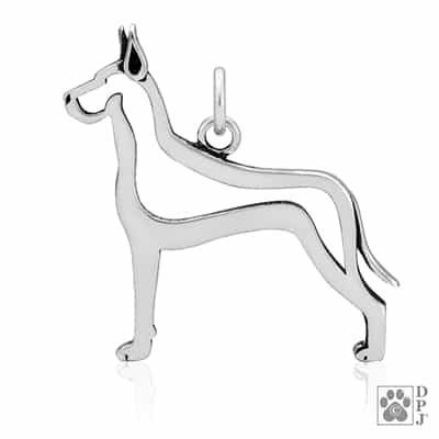 Great Dane Jewelry, Great Dane Pendant