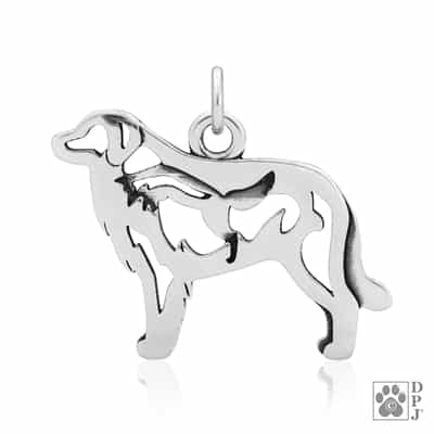 Great Pyrenees Pendant With Fox
