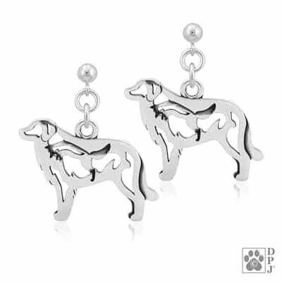 Great Pyrenees Earrings, Great Pyrenees Earring Body