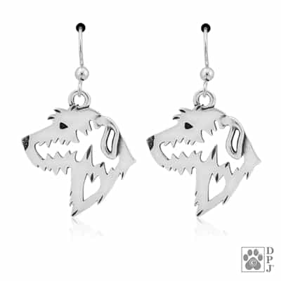Irish Wolfhound Earrings, Irish Wolfhound Gifts