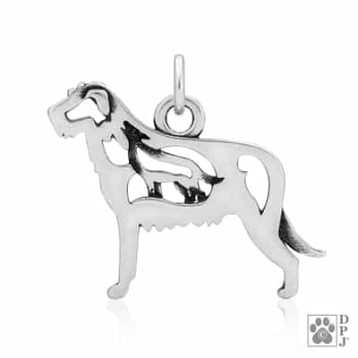 Irish Wolfhound Jewelry, Irish Wolfhound Necklace