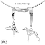 Italian Greyhound Necklace, Italian Greyhound Jewelry