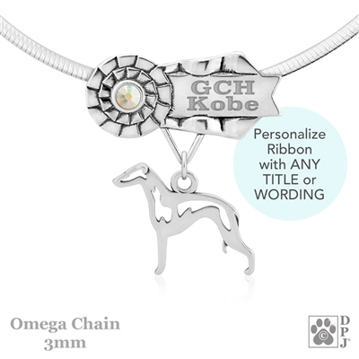 Best In Show Italian Greyhound Jewelry, Best In Show Italian Greyhound Pendant, Best In Show Italian Greyhound Necklace