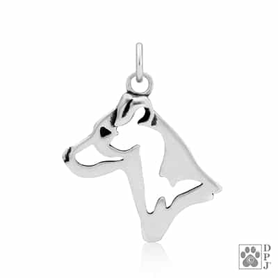Parson Russell Terrier Smooth Coat Pendant