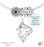 Best In Show Keeshond Jewelry, Best In Show Keeshond Pendant, Best In Show Keeshond Necklace