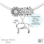 Personalized Best In Show Labrador Retriever Jewelry, Best In Show Labrador Pendant Necklace, Grand Champion Labrador Retriever