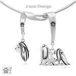 Fine Maltese Breed Jewelry Gifts, Sterling Silver Maltese Pendant Necklace, Grand Champion Maltese, Best in Show Maltese