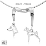 Miniature Pinscher Necklace, Miniature Pinscher Jewelry