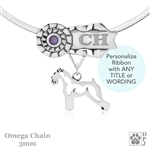 Best In Show Schnauzer Jewelry, Best In Show Schnauzer Pendant, Best In Show Schnauzer Necklace