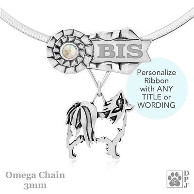Best In Show Papillon Jewelry, Best In Show Papillon Pendant, Best In Show Papillon Necklace