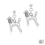 Poodle Earrings, Poodle Gifts, Poodle jewelry