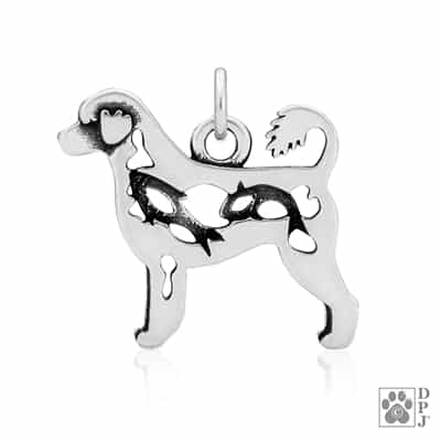 Portuguese Water Dog Pendant, Portuguese Water Dog Charm
