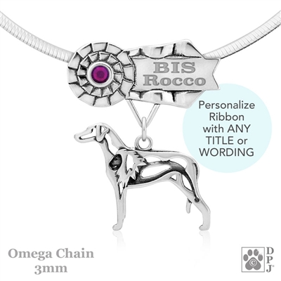 Best In Show Rhodesian Ridgeback Jewelry, Best In Show Rhodesian Ridgeback Pendant, Best In Show Rhodesian Ridgeback Necklace