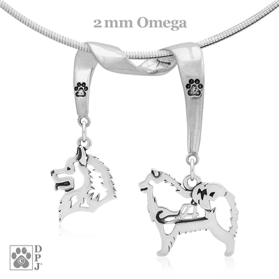 Samoyed Necklace, Samoyed Jewelry