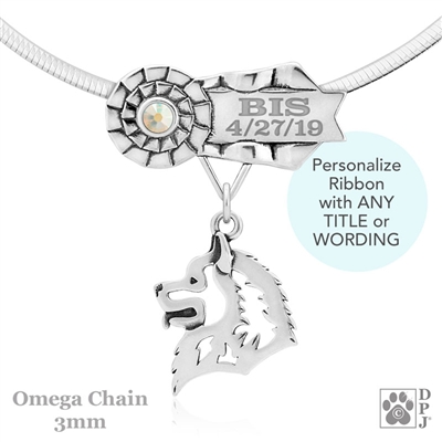 Best In Show Samoyed Jewelry, Best In Show Samoyed Pendant, Best In Show Samoyed Necklace