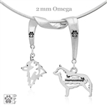 Schipperke Necklace, Schipperke Jewelry