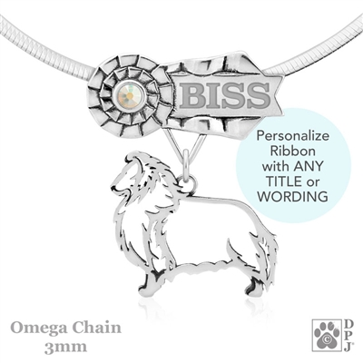 Best In Show Shetland Sheepdog Jewelry, Best In Show Shetland Sheepdog Pendant, Best In Show Shetland Sheepdog Necklace