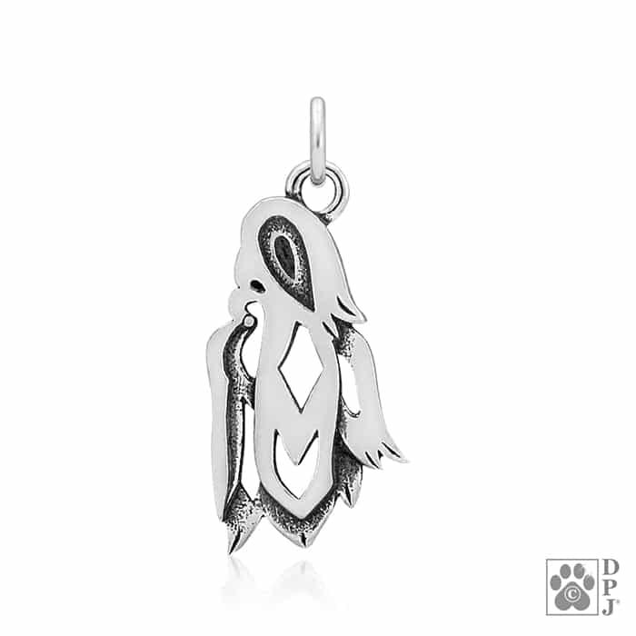 Shih Tzu Pendant Shih Tzu Breed Jewelry Sterling Silver Shih Tzu