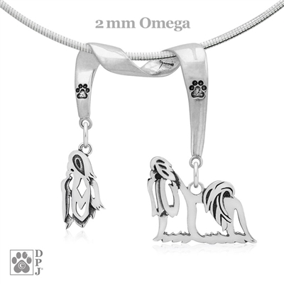 Shih Tzu Necklace, Shih Tzu Jewelry