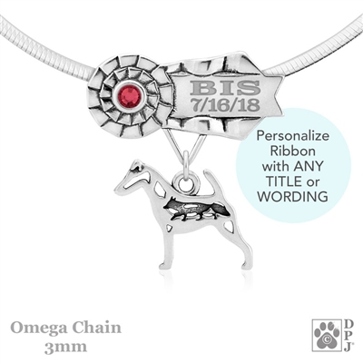 Best In Show Smooth Fox Terrier Jewelry, Best In Show Smooth Fox Terrier Pendant, Best In Show Smooth Fox Terrier Necklace