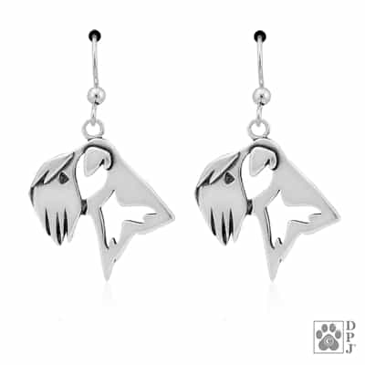 Soft Coated Wheaten Terrier Earrings