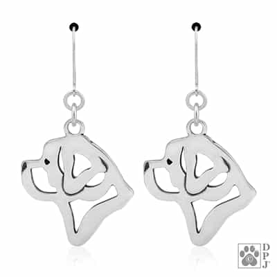 Saint Bernard Earrings, Saint Bernard Gifts