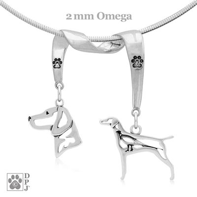 Vizsla Necklace, Vizsla Jewelry