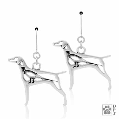 Vizsla Earrings, Vizsla Jewelry