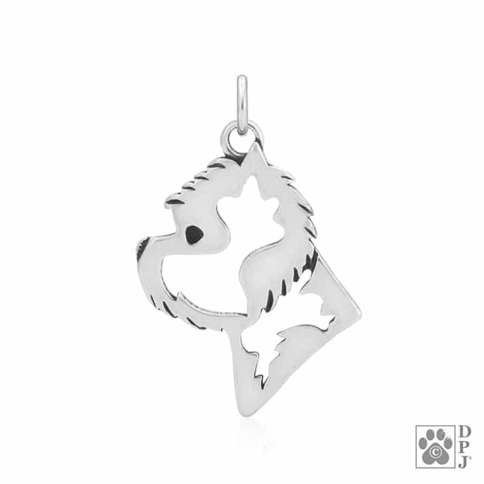 Westie Photo Locket Jewelry Sterling Silver Handmade West Highland White Terrier
