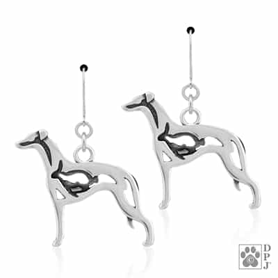 Whippet Earring, Whippet Jewelry