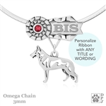 Best In Show White Shepherd Jewelry, Best In Show White Shepherd Pendant, Best In Show White Shepherd Necklace
