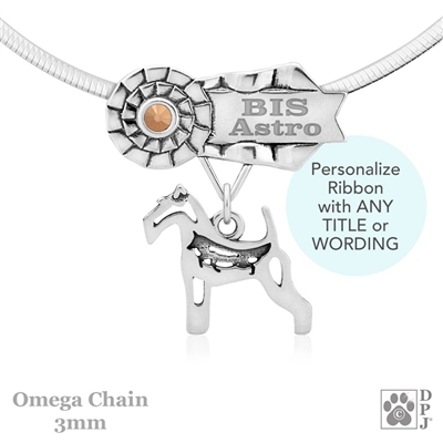 Best In Show Wire Fox Terrier Jewelry, Best In Show Wire Fox Terrier Pendant, Best In Show Wire Fox Terrier Necklace